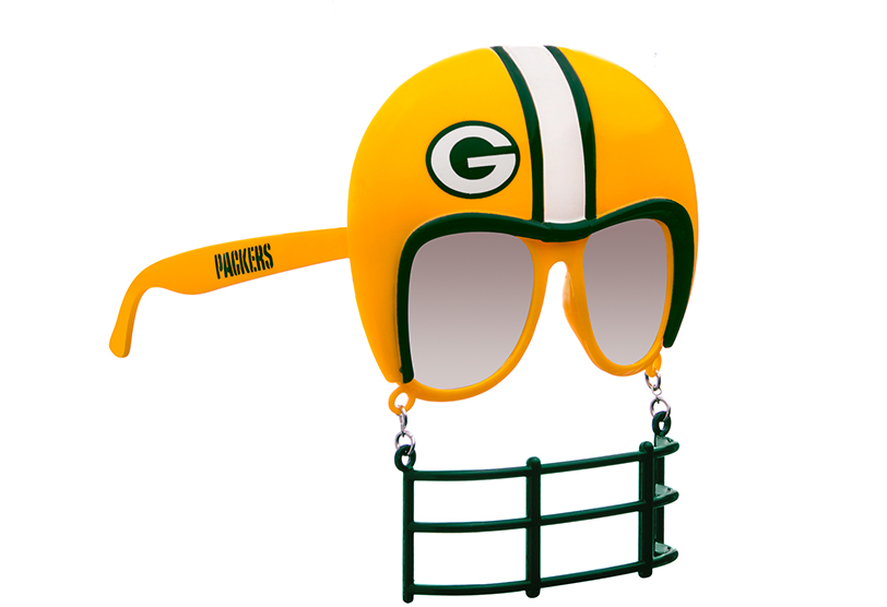 64fe11f1 NFL Green Bay Packers Novelty Sunglasses